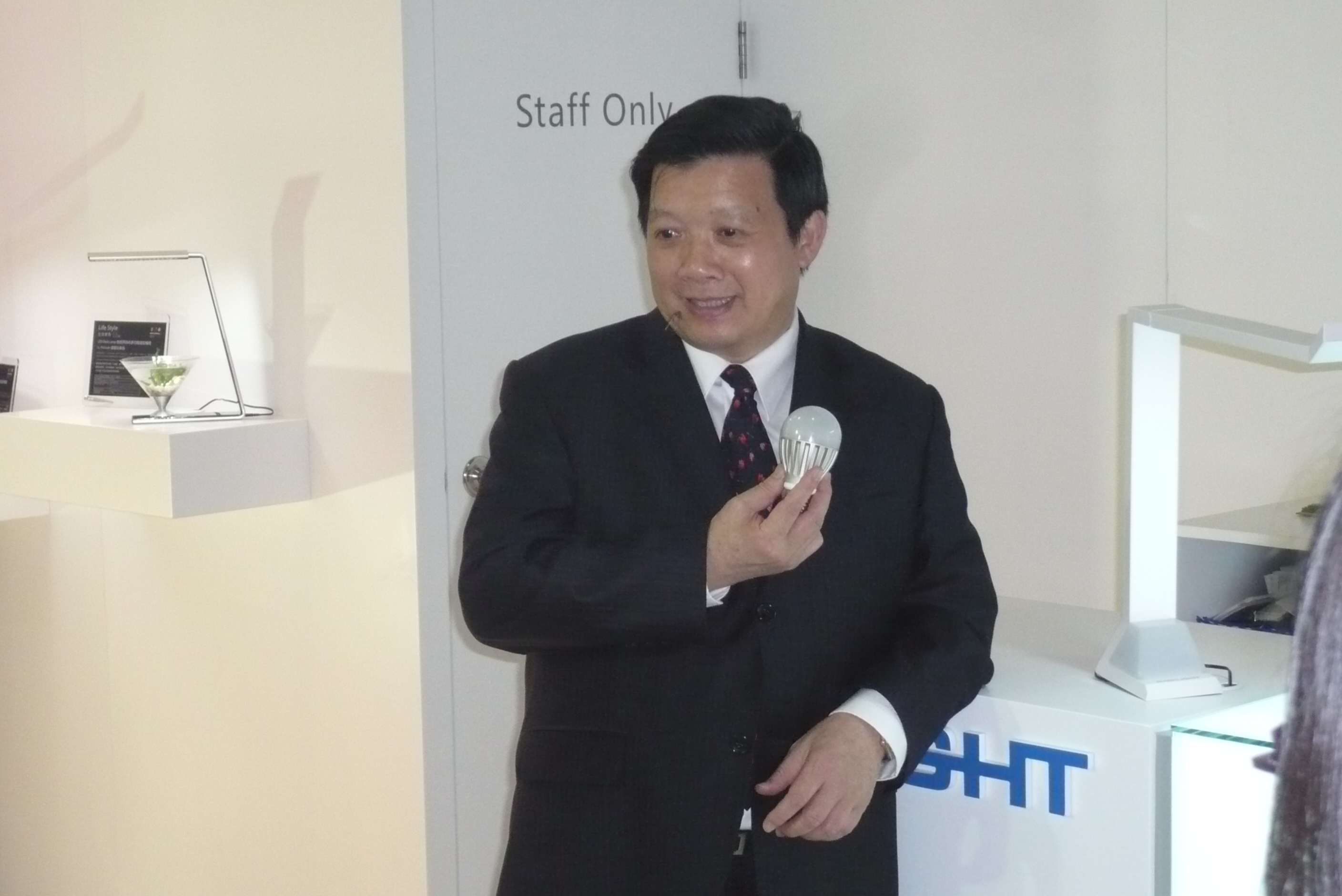 Yeh is optimistic about the 2014 LED market.