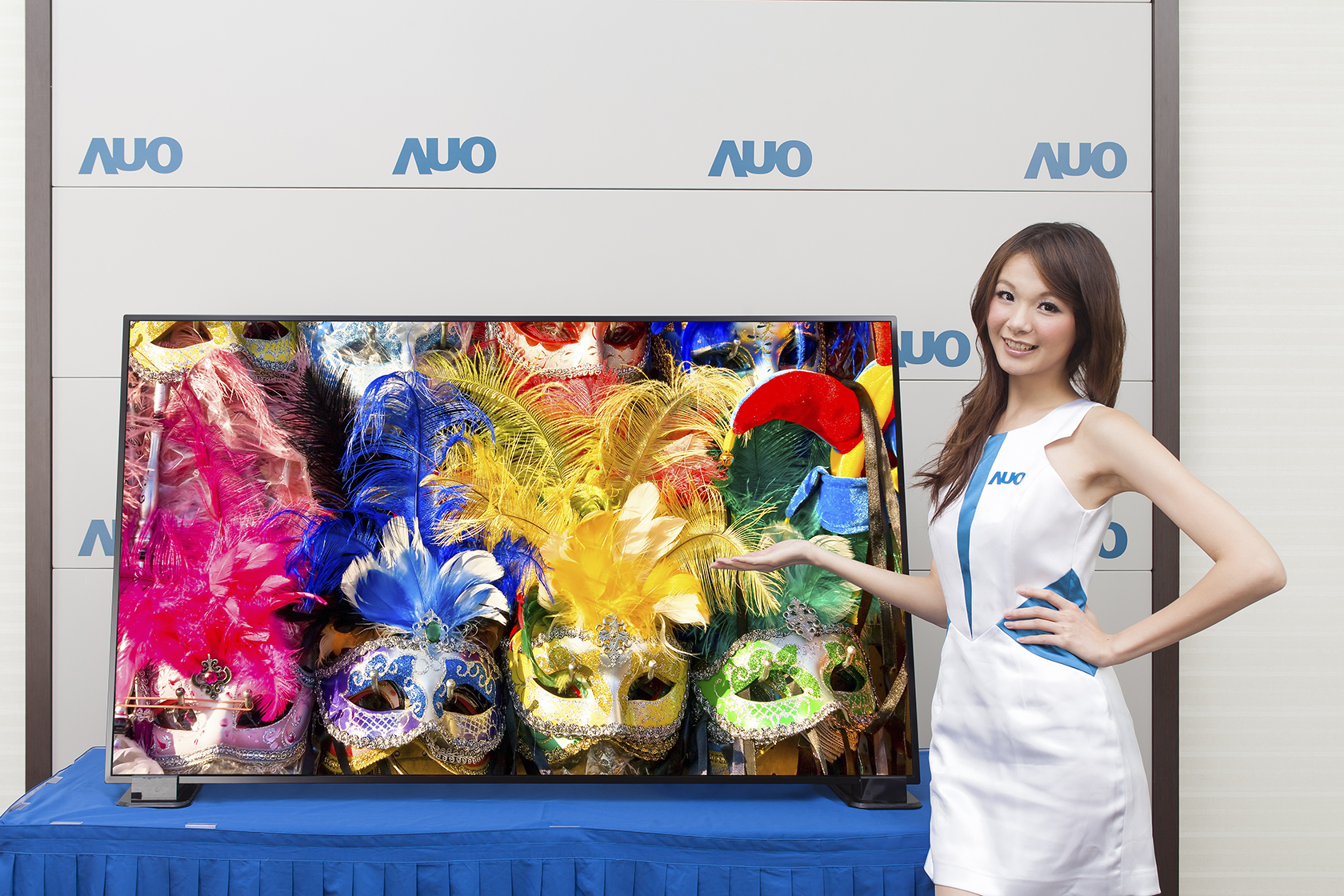 Sony procures 55- and 65-inch 4K2K TV panels from Taiwan's AUO. (photo of AUO)