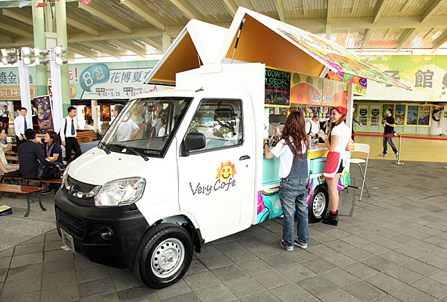 The Veryca is very popular among micro-enterprisers in Taiwan.