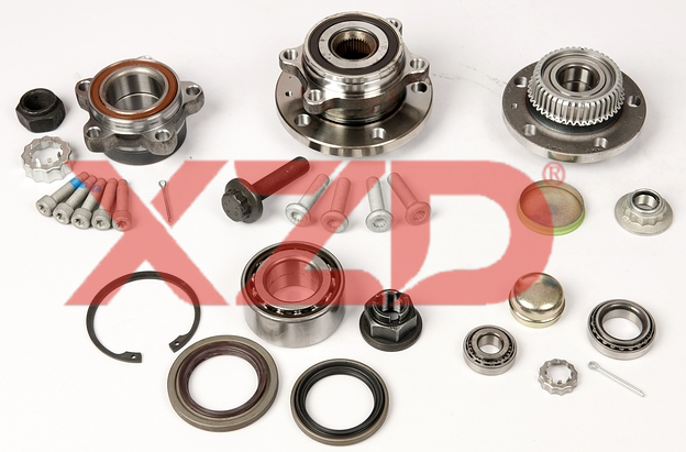 Wheel hub bearing repair kits supplied by Xinchang Kaiyuan.