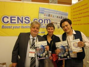 CENS's TIS proves popular among foreign buyers at TIFS 2012.