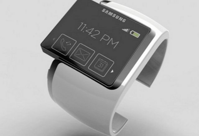 A Samsung smartwatch. (photo from Internet)