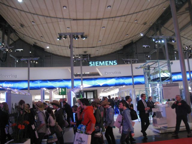 Hannover Messe 2014 drew over 180,000 visitors and some 5,000 exhibitors from all over the world.