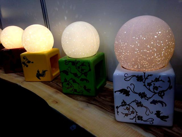 RSBN's Ceramic Lighting series presents the spirit of 'Recreation, Style, Beauty, and Nature.