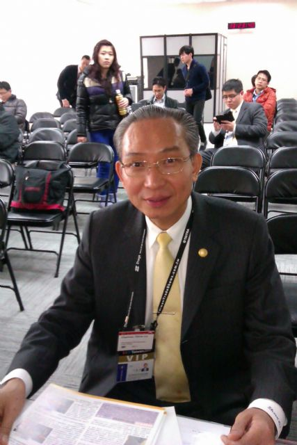 """TLFEA Chairman Steven Lin: """"China could become the world's fastest growing market for smart cities, which is something that Taiwan's lighting industry should take heed of."""""""