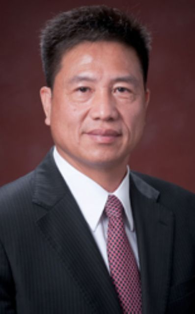 Paul Peng, president of Taiwan's major TFT-LCD panel maker AUO. (photo from company website)