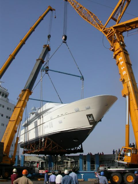 Taiwan outpaces Germany as world's sixth-largest yacht builder by length in the 80-feet-and-longer segment in 2013.