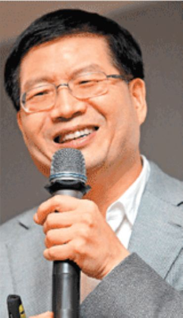 ASUS CEO Jerry Shen.