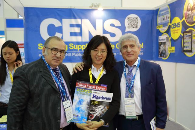 Foreign buyers give thumbs up to CENS publications.