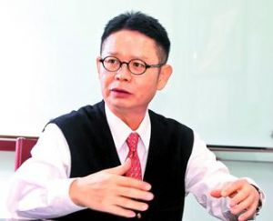 Crispin Wu, Tong Yang's president.