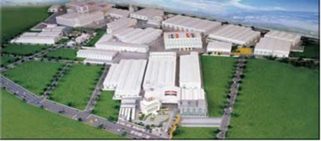 Tong Yang's 4.32 million sq. ft. plant complex in Tainan, southern Taiwan.
