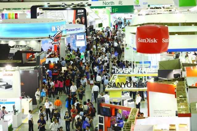 Computex Taipei 2014 drew 38,600 international buyers.