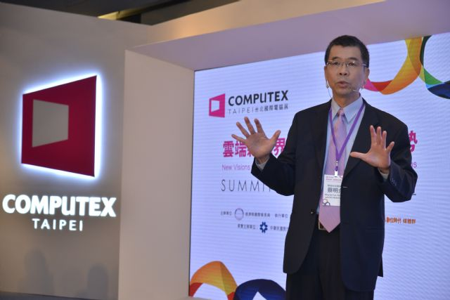 MediaTek's Tsai gave an optimistic forecast for the IoT market.