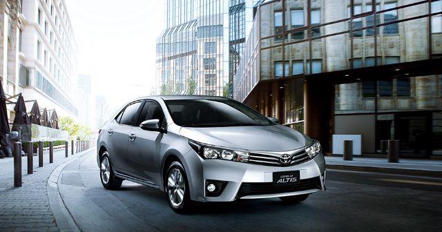 The Toyota new Corolla Altis.