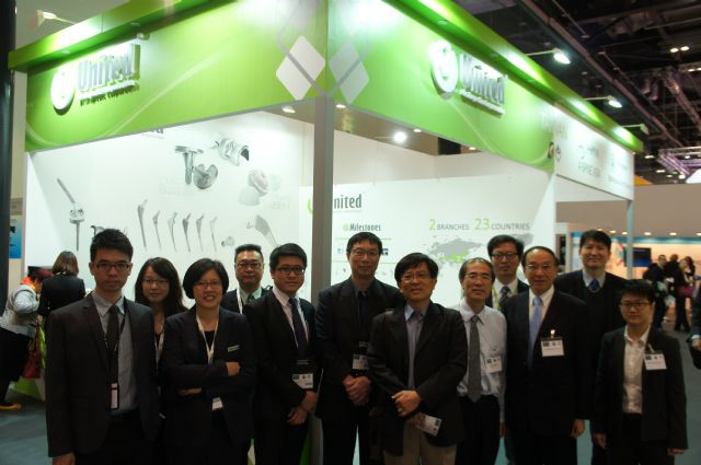 Taiwanese exhibitors at the EFORT Congress 2014 in London, the U.K. (photo from MIRDC)