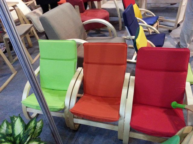 Children's furniture made in China today includes armchairs, tables, recliners, stools, and other items.