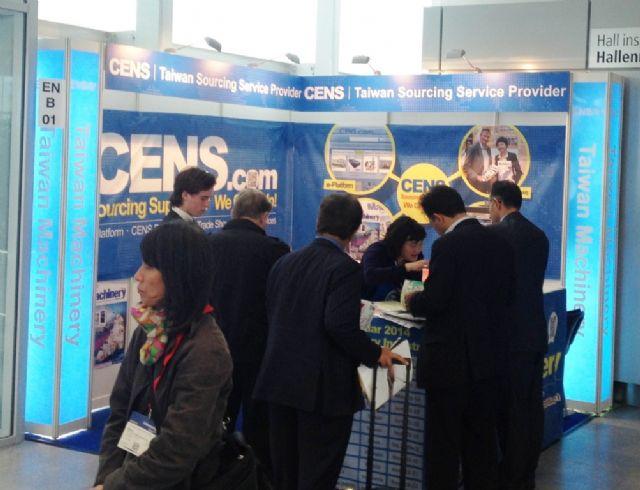 CENS booth draws many visitors at Interpack.