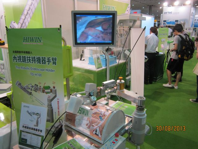 Hiwin comes with a bright picture for its robot shipments this year. (A Hiwin medical robot shown)