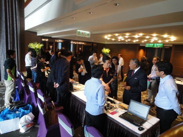 TTIA arranged for its member companies to show their products and services to the Indonesian delegation.