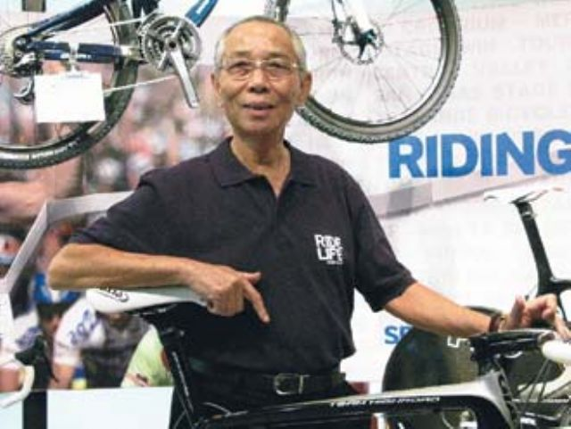King Liu, chairman of world's largest bicycle brand Giant