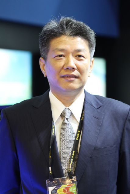 C.C. Wan, chairman of Wan Zai, the world's largest supplier of AM automotive A/C condensers