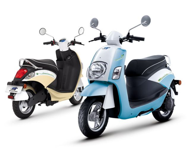Taiwan has many makers of high-quality e-scooters.