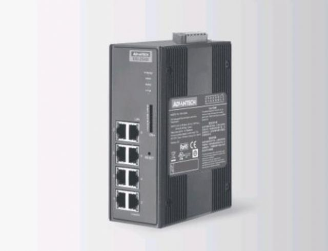An industrial computer supplied by Advantech. (photo from company website)