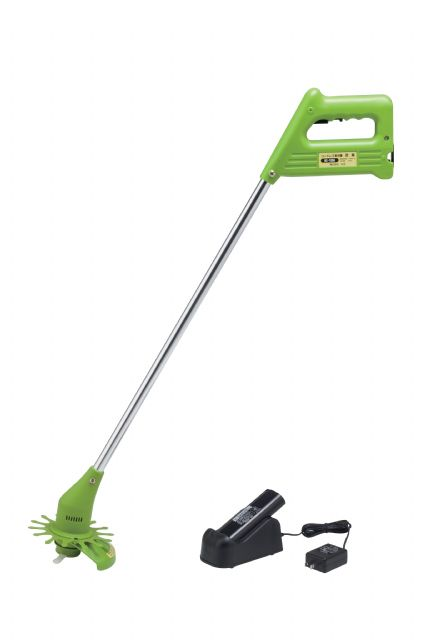 The JH-29 electric brush cutter is lightweight and ergonomically designed for effortless use for long periods.