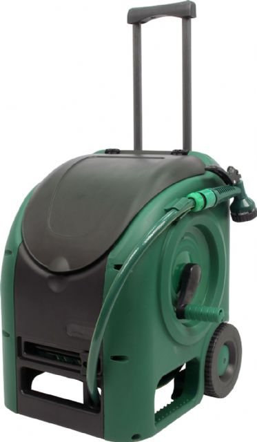 The RL-540 hose reel cart is an ultimate ready-to-use solution for convenient, enjoyable watering around the garden.