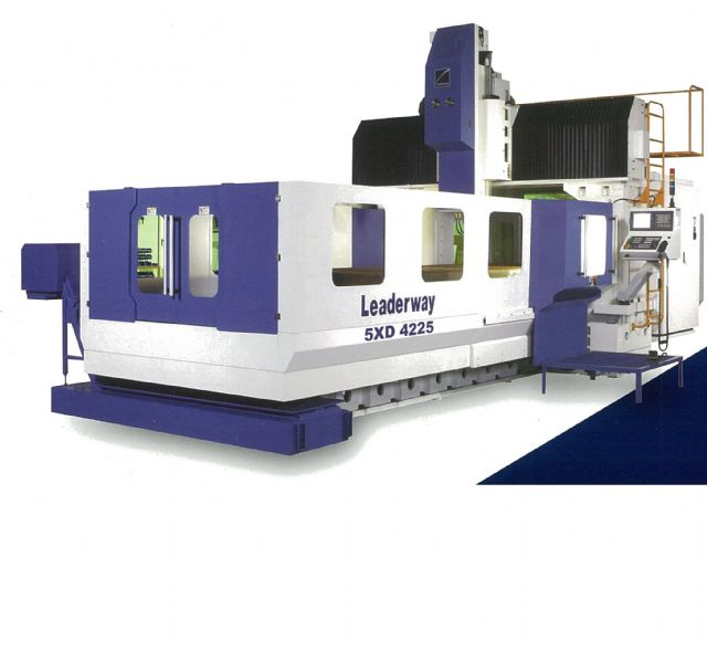 The speed of Leaderway's five-axis machines has been accelerated from 15,000rpm to 24,000rpm, thanks to technology developed by ITRI.