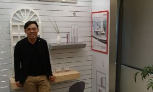 Michael Yang, manager and chief desiger in Lextar Electronics Corp.'s lighting product design department