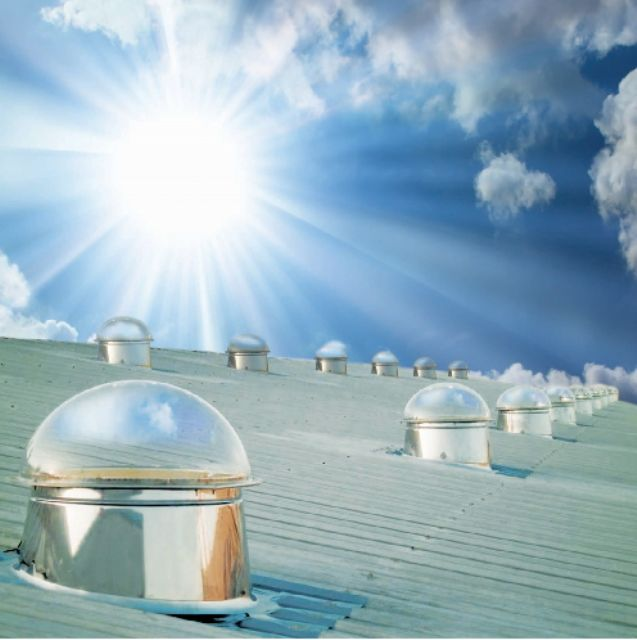 Natural sunlight is considered the most user-friendly lighting source.