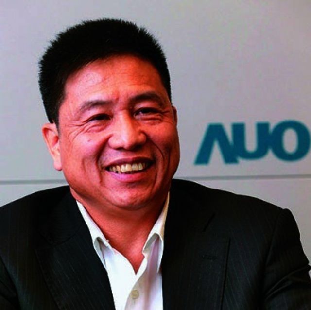 Caption 1: AUO's president Paul Peng. (photo from UDN)