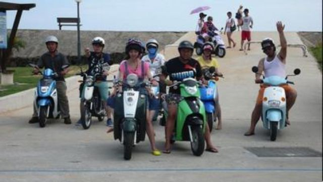 Taiwan's government plans to boost subsidies for e-scooters, especially in offshore island areas. (Photo from UDN)