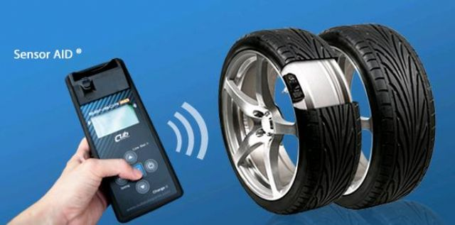 Cub's TPMS product for automotive aftermarket (photo from company website)
