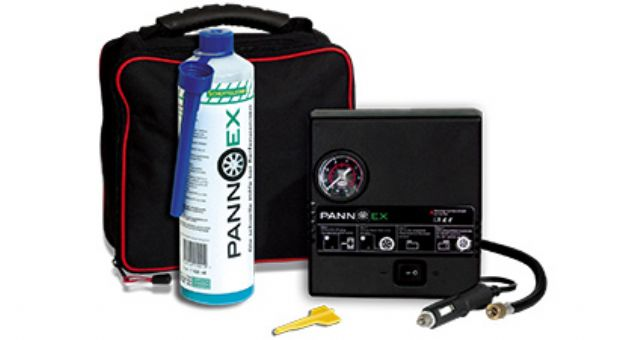 PANNEX is a new eco-friendly tire sealant for emergency tire repairs.