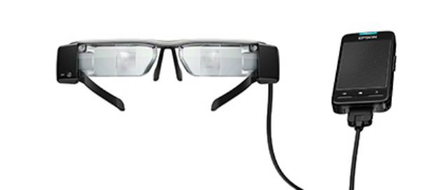 The augmented reality glasses developed by Texas.