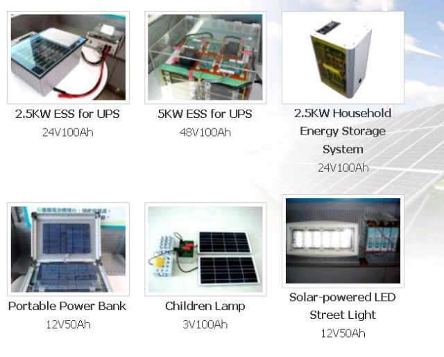 Chang Hong's cells in energy-storage systems. (Photo from Chang Hong)