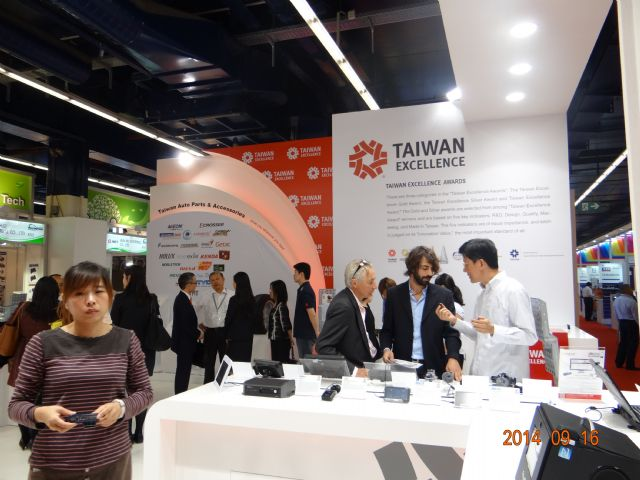 Taiwan Excellence Pavilion draws continuous influx of visitors.