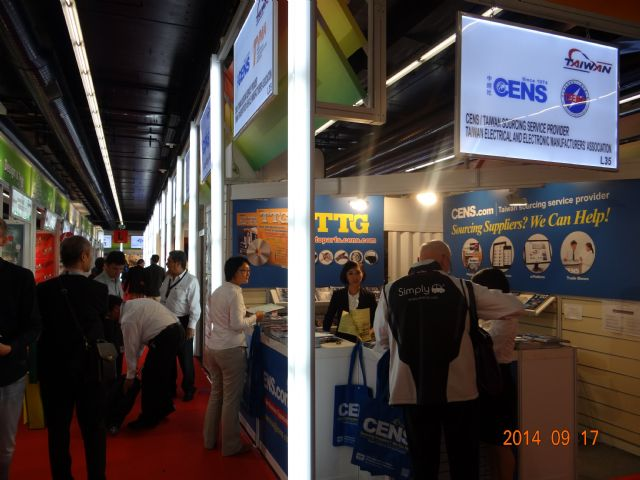 CENS again heads Taiwan's largest exhibitor group.