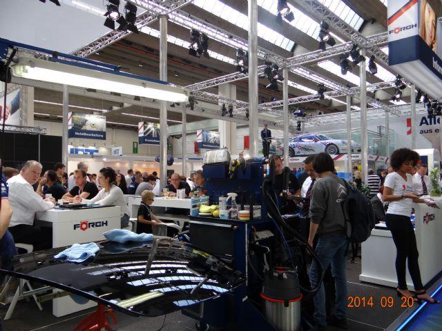 Brisk demand for auto repair and maintenance equipment drove this year's Automechanika Frankfurt.