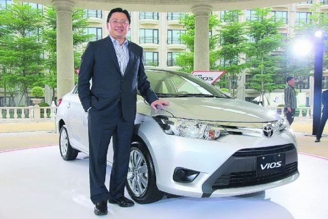 Justin Su, president of Hotai Motor, local agent of Toyota and Lexus. (photo from UDN)
