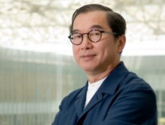 Barry Lam, chairman of Quanta, a major notebook PC contract assembler in Taiwan. (photo from UDN)