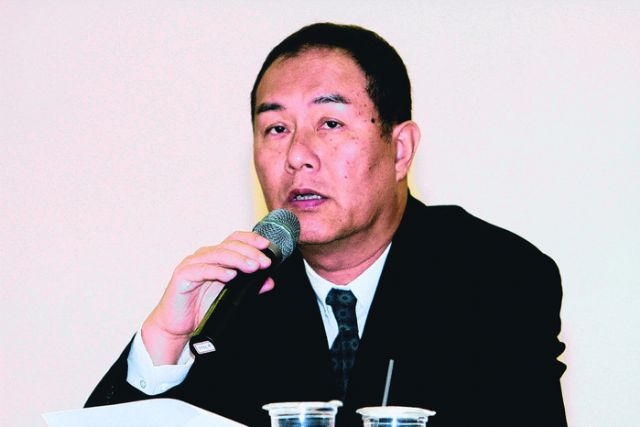 Primax chairman and CEO Raymond Liang. (photo from UDN)