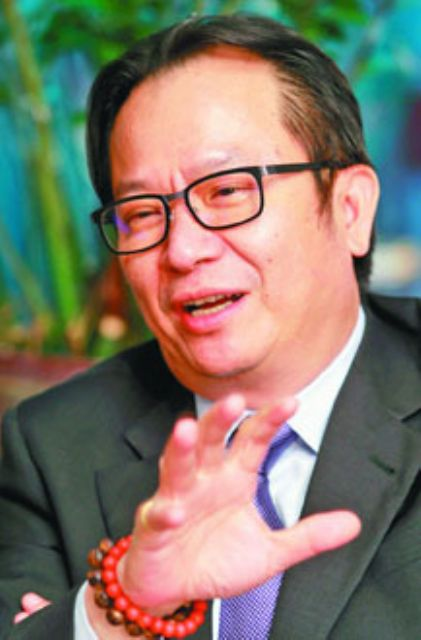 Chen Kuo-rong, chairman of Taiwan's major automobile manufacturing conglomerate Yulon Group. (photo from UDN)