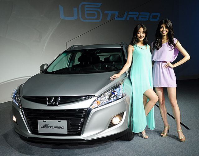 The LUXGEN U6 crossover model has been enjoying smooth sales in Taiwan and China. (photo from UDN)