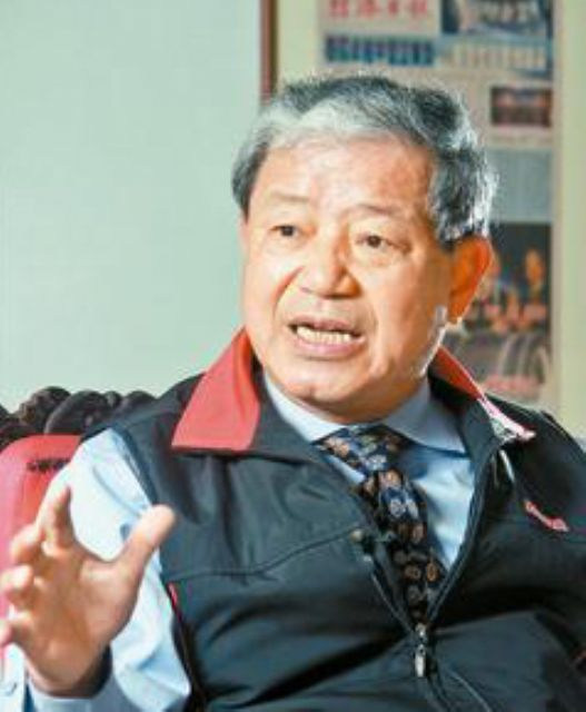 Yang Yin-ming, chairman of Kenda, a major tire maker headquartered in Taiwa. (photo from UDN)