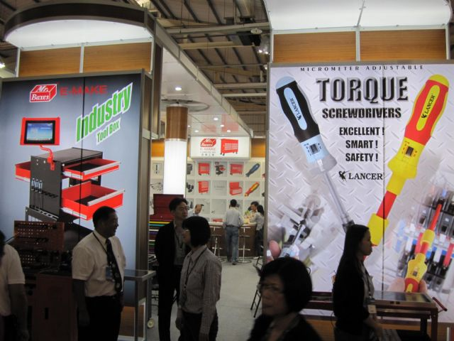 High-quality, innovative products displayed by Taiwanese suppliers.