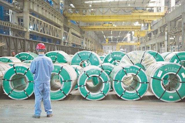 Taiwan's overall manufacturing-sector production value is estimated to increase only 2.86% in 2015, IEK says, lower than the 3.26% growth in 2014, to about US$18.25 trillion. (photo from UDN)