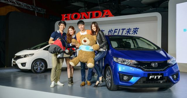 Launch of the Honda Fit subcompact helps Honda Taiwan gain a 33.6% YoY increase in October sales. (photo from UDN)